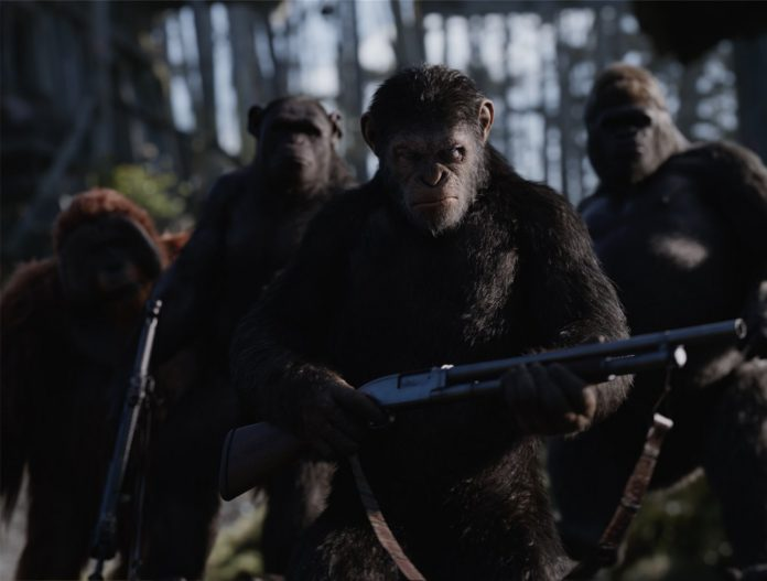 War for the Planet of the Apes © Official Poster