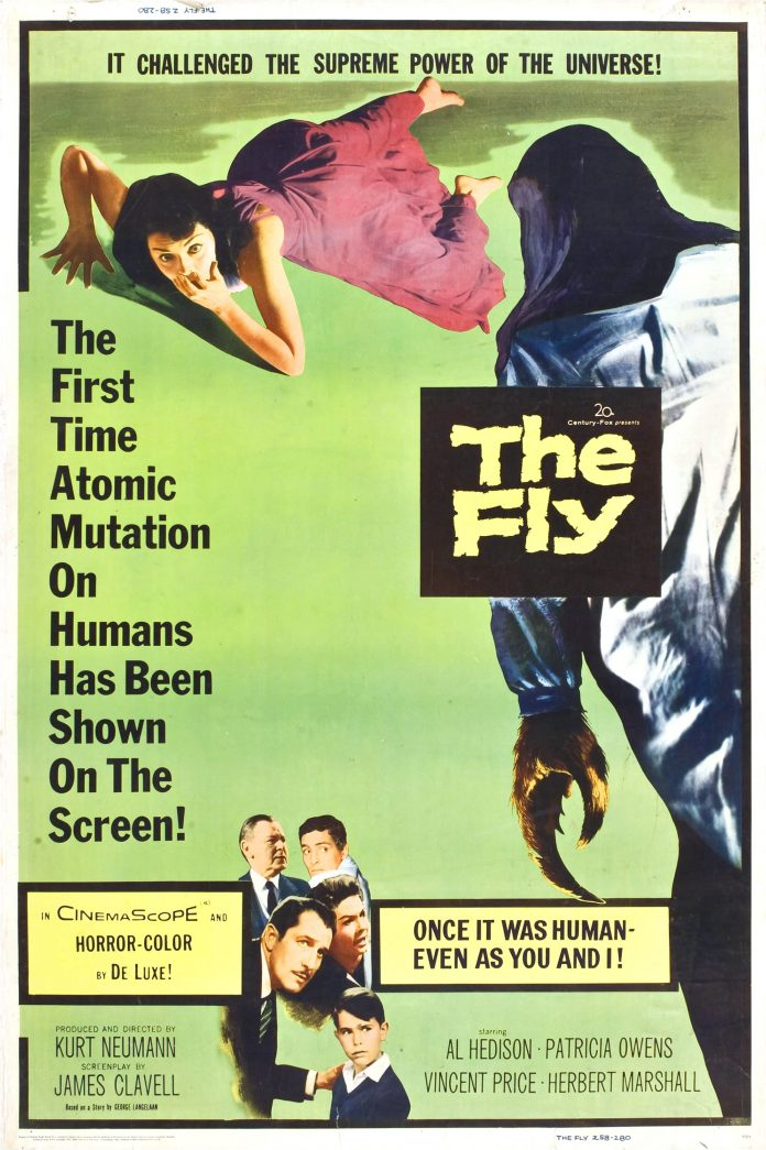 The Fly 1958 Poster