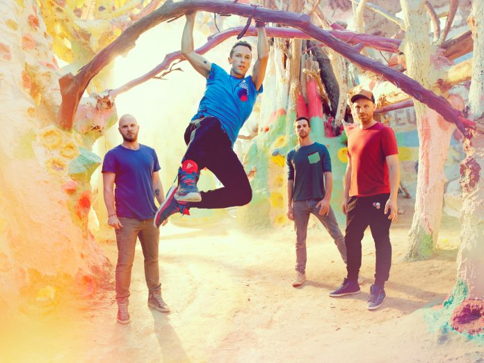 Coldplay just dropped their new EP, 'Kaleidoscope'