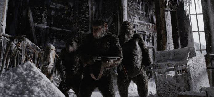 War for the Planet of the Apes © 2016 - Twentieth Century Fox