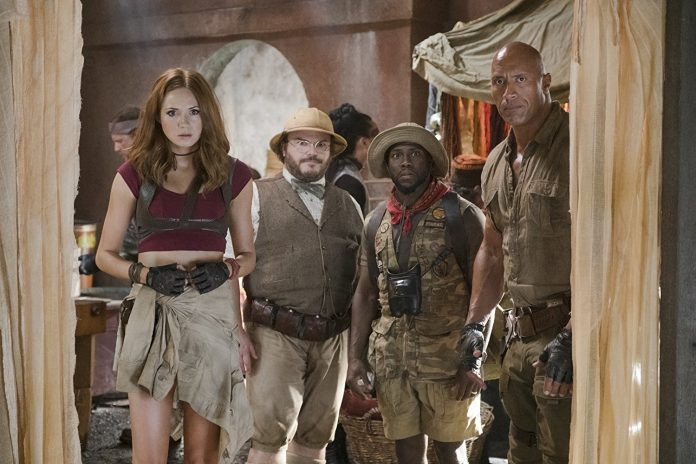 'Jumanji' continues to stomp N. American box office competition