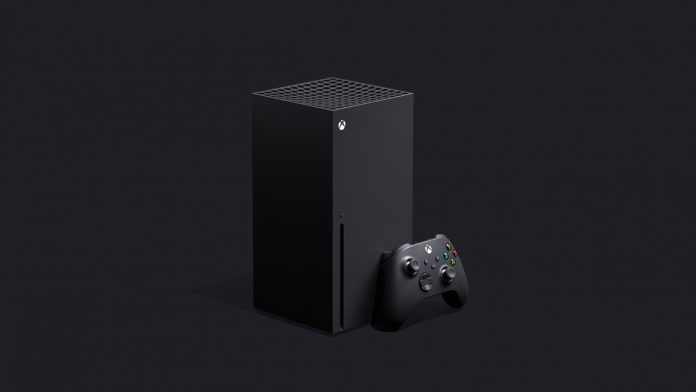 A photo of Microsoft's new console Xbox Series X