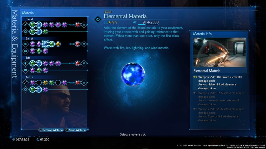 The Materia System