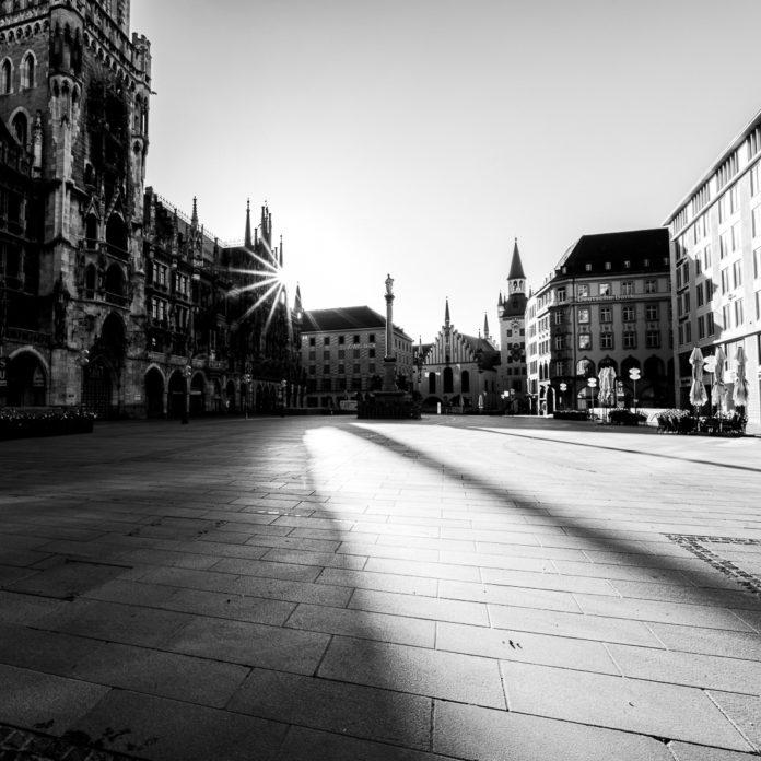 Munich Lockdown Views by Franz Sussbauer