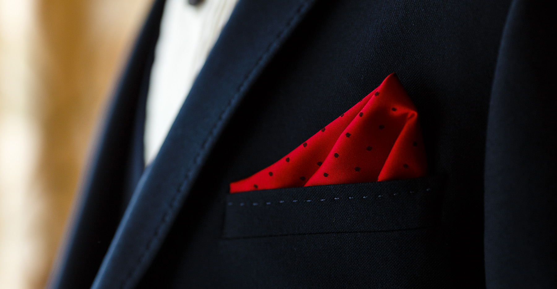 7 Pocket Squares to Match with a Navy Suit