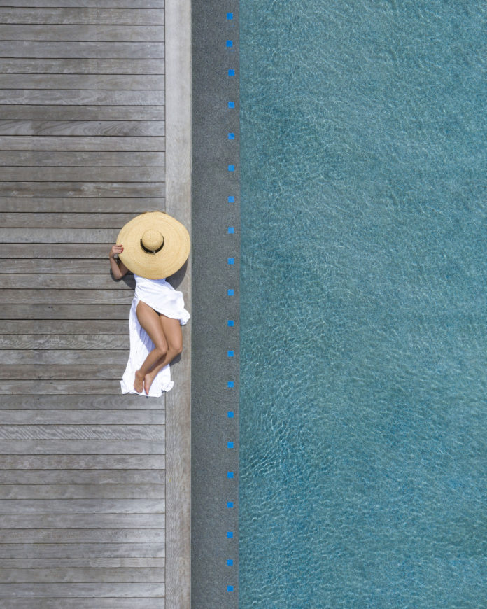 The Beauty Of Swimming Pools by Brad Walls