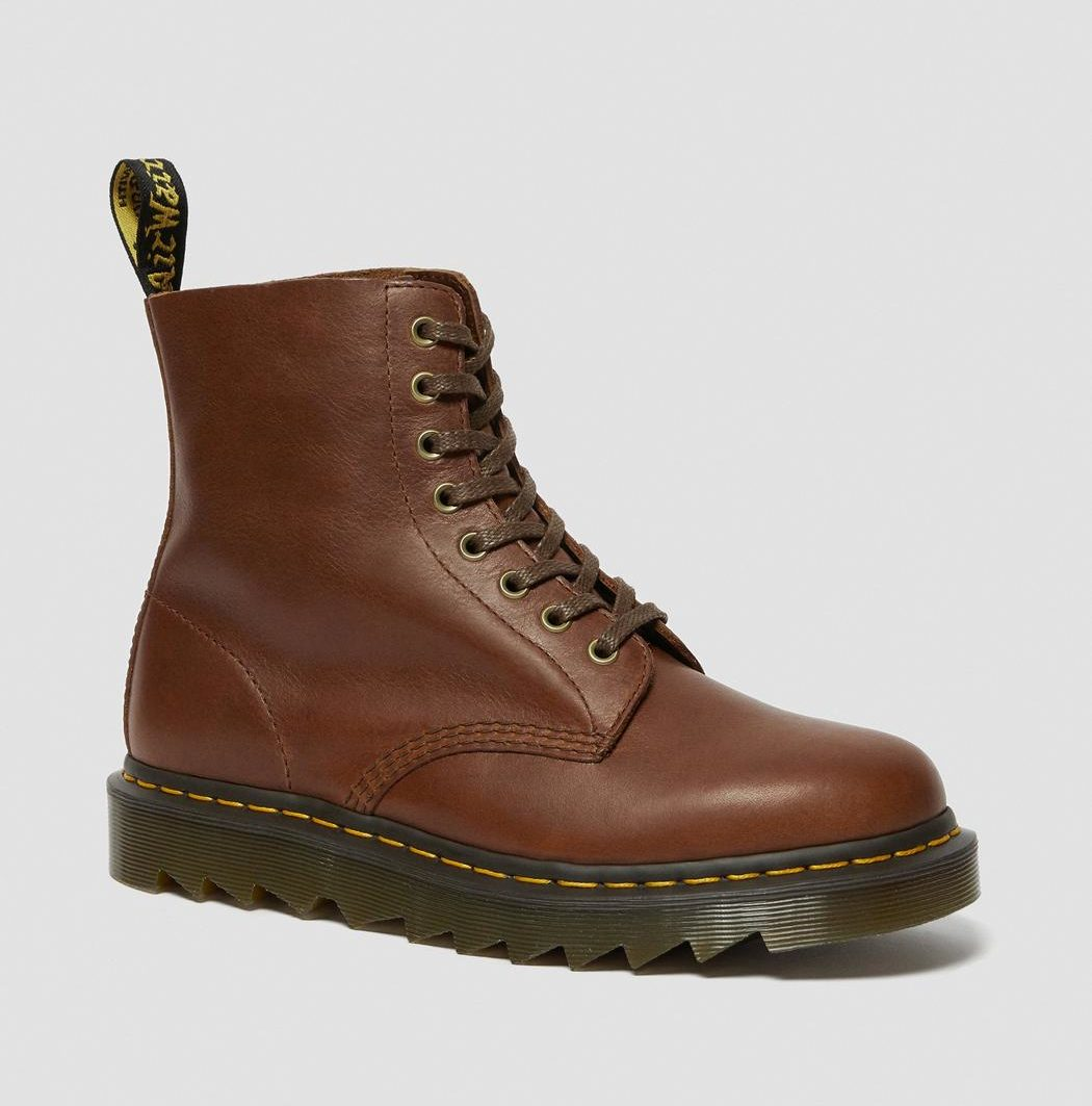 1460 Pascal Ziggy Leather Booths, Dr Martens