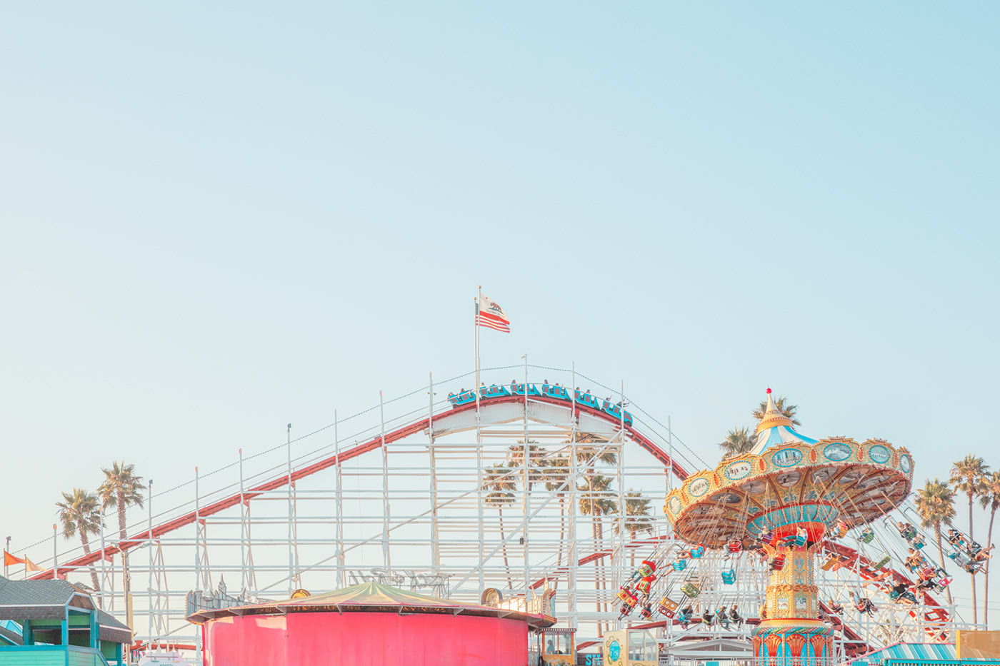 Santa Cruz Amusement Park by Ludwig Favre