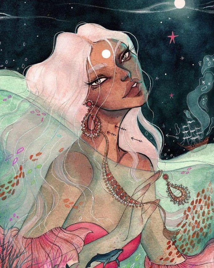 Hypnotising Illustrations by Darshini Chetty