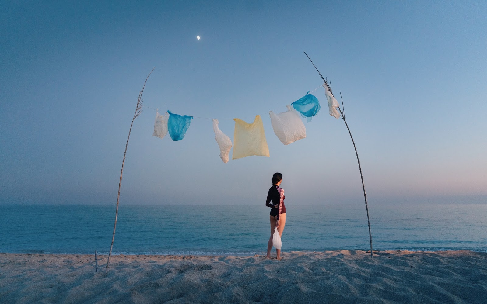 Plastic by the Sea by Simone Bramante